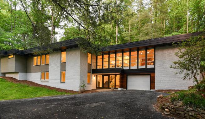 Mid Century Modern Homes For Sale Asheville Nc