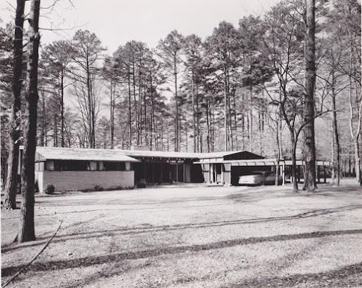 Displaying A. A. Oliver Jr. Residence Sedgefield NC 1956 Exterior Front.jpeg